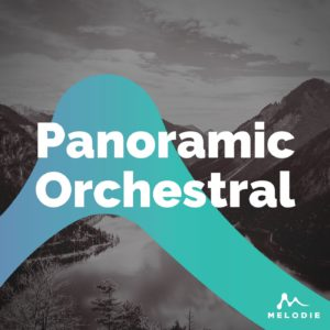 Panoramic orchestral stock music playlist